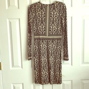 Tory Burch silk jersey patterned dress